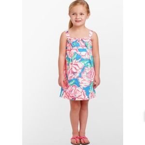 Lilly Pulitzer girls Little Leandra dress floral